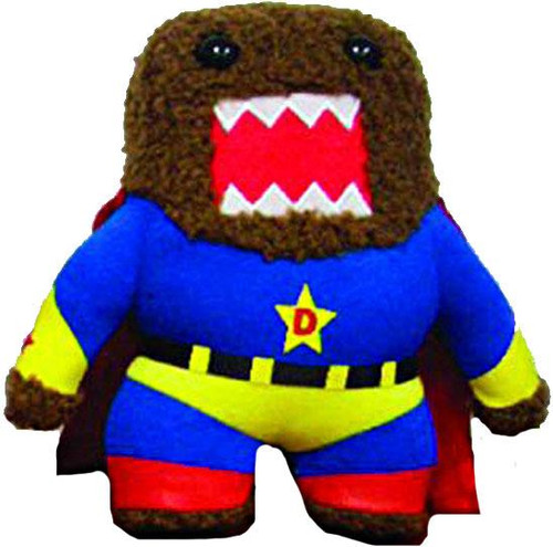 Superhero Domo 6.5-Inch Plush Figure