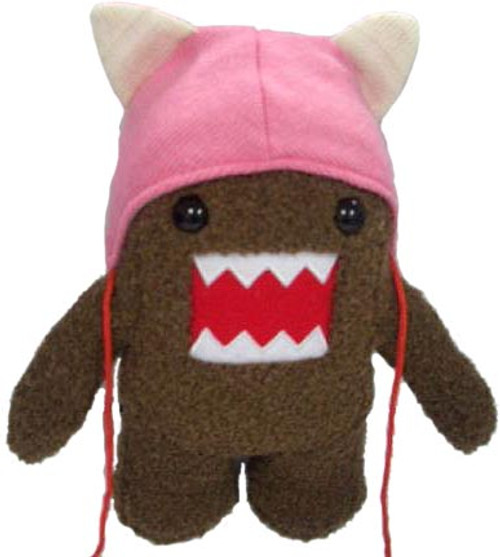 Cat Hat Domo 6.5-Inch Plush