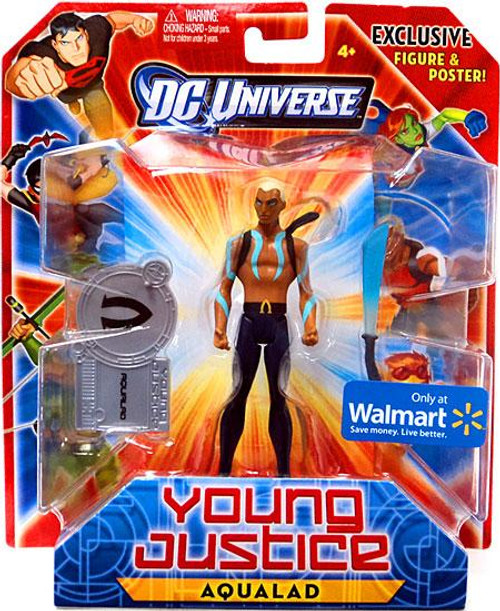 DC Universe Young Justice Aqualad Exclusive Action Figure [No Shirt, Blue Paint On Upper Body]