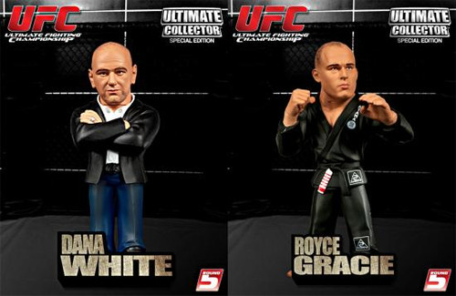 UFC Ultimate Collector Special Edition Set of 2 Action Figures