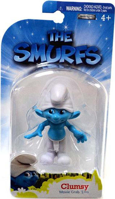 The Smurfs Movie Grab 'Ems Clumsy Mini Figure