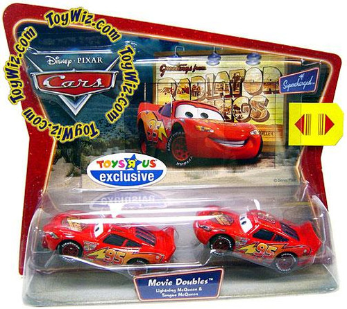 Disney Cars 2-Packs Lightning & Tongue McQueen Exclusive Diecast Car 2-Pack