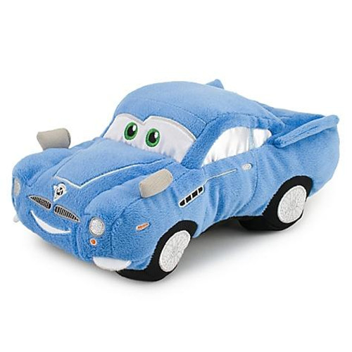 Disney Cars Cars 2 Plush Finn McMissile Exclusive 9-Inch Plush [9 Inch]