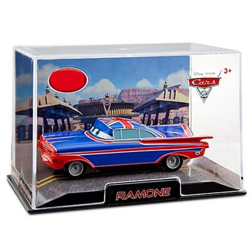 Disney Cars Cars 2 1:43 Collectors Case Ramone Exclusive Diecast Car [British]