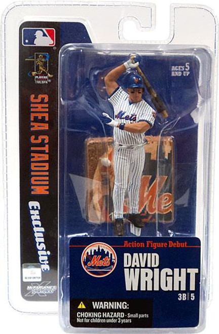 McFarlane Toys MLB New York Mets Sports Picks Exclusive David Wright Exclusive 3-Inch Mini Figure