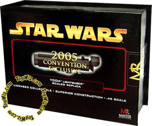 Star Wars Revenge of the Sith .45 Scale Minis Yoda Exclusive Lightsaber [Exclusive]