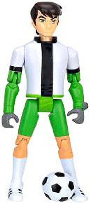 Ben 10 Ben Tennyson Action Figure [Soccer Uniform Loose]