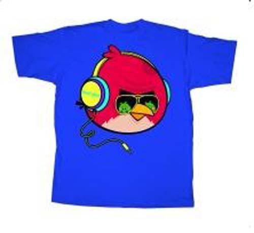 Angry Birds Tough Guy T-Shirt [Adult Medium]