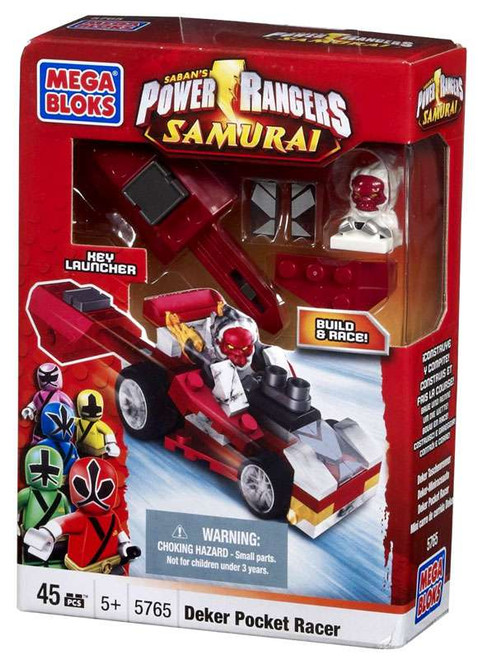 Mega Bloks Power Rangers Samurai Deker Motor Head Set #5765