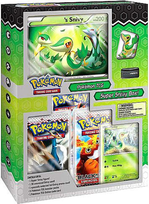 Pokemon Black & White Super Snivy Starter Figure Box [Sealed]