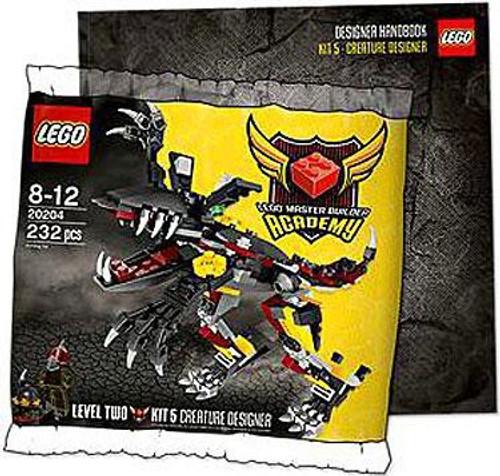 LEGO Master Builder Academy MBA Creature Designer Mini Set #20204 [Bagged]