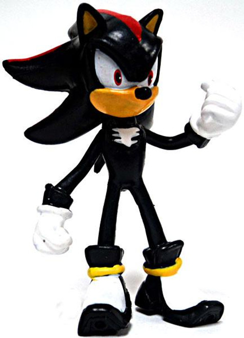 Sonic The Hedgehog Gacha Buildable Figures Shadow 2.5-Inch Mini Figure