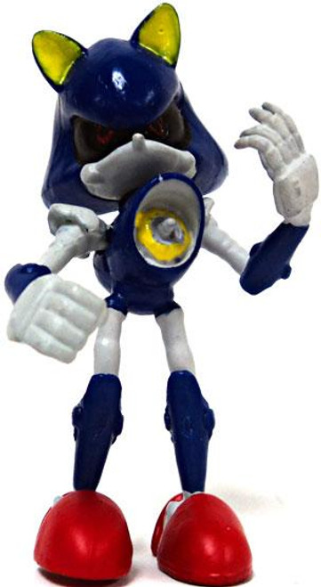 Sonic The Hedgehog Gacha Buildable Figures Metal Sonic 2.5-Inch Mini Figure