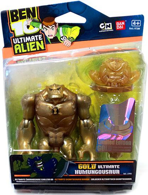 Ben 10 Ultimate Alien Limited Edition Gold Humungousaur Action Figure [Gold]