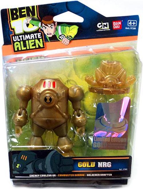 Ben 10 Ultimate Alien Limited Edition Gold NRG Action Figure [Gold]