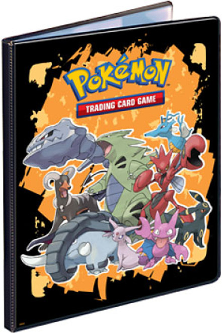 Ultra Pro Pokemon Card Supplies Tyranitar & Friends 9-Pocket Binder [Orange]