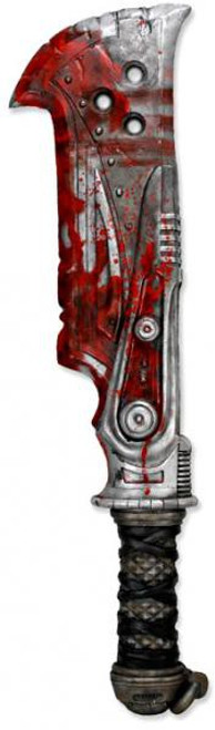 NECA Gears of War Butcher Cleaver Weapon 36-Inch Prop Replica
