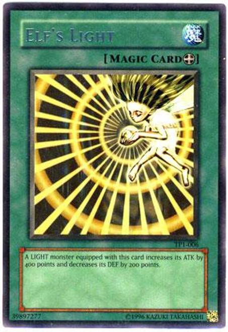 YuGiOh Tournament Pack 1 Rare Elf's Light TP1-006