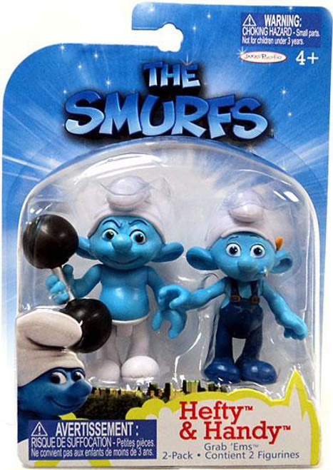 The Smurfs Movie Grab 'Ems Hefty & Handy Mini Figure 2-Pack