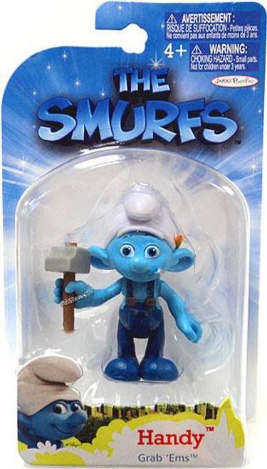 The Smurfs Movie Grab 'Ems Handy Mini Figure