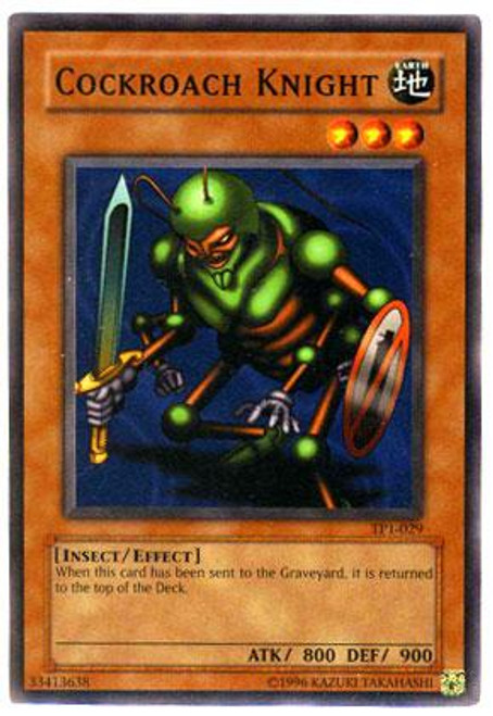 YuGiOh Tournament Pack 1 Common Cockroach Knight TP1-029