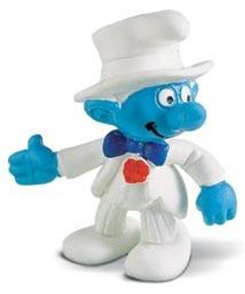 The Smurfs Bridegroom Smurf Mini Figure