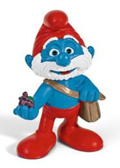 The Smurfs Papa Smurf Mini Figure [With Bag]