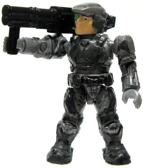 Mega Bloks Halo Loose Marine 2-Inch Minifigure [Silver with Missile Launcher Loose]
