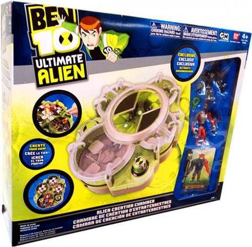 Ben 10 Ultimate Alien Alien Creation Chamber Exclusive Playset