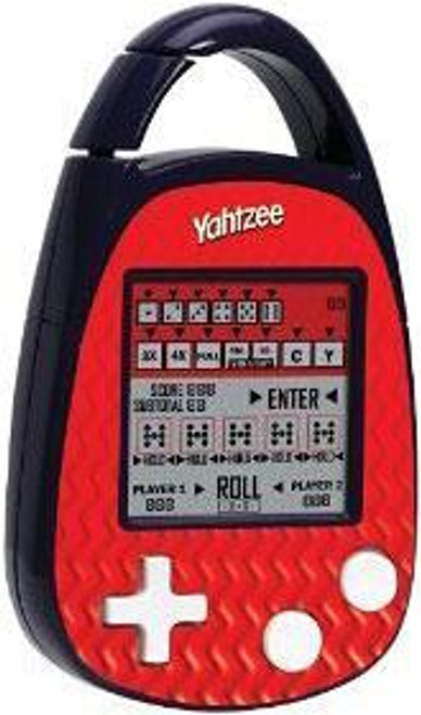 Carabiner Edition Yahtzee Electronic Handheld Game