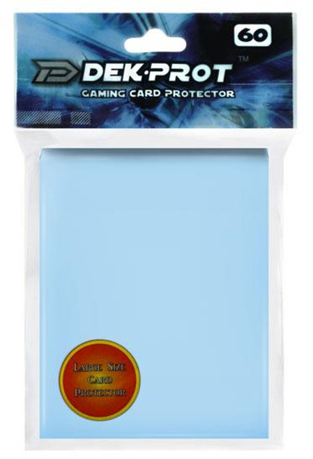 Card Supplies Gaming Card Protectors Aqua Blue Standard Card Sleeves [60 ct]