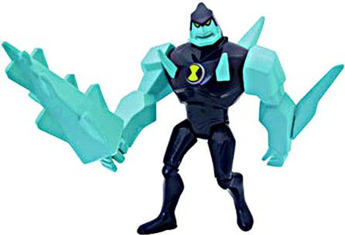 Ben 10 DiamondHead Action Figure [V.2 Blue Uniform Loose]