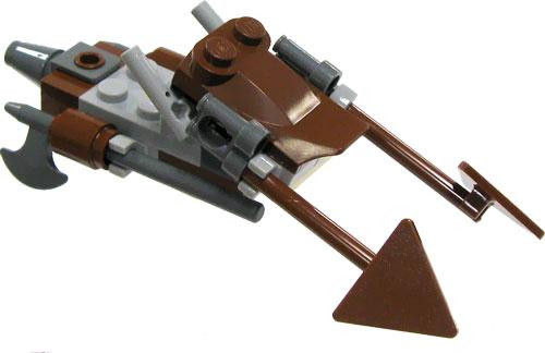 LEGO Star Wars 74-Z Imperial Speederbike Loose Vehicle [Endor Version 1 Loose]