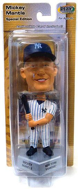 MLB New York Yankees PlayMakers Mickey Mantle Bobble Head