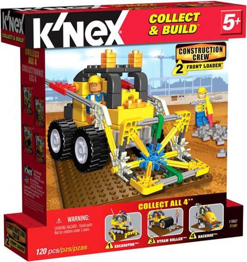 K'Nex Construction Crew Front Loader Set #11562
