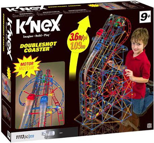 K'Nex DoubleShot Roller Coaster Set #50542