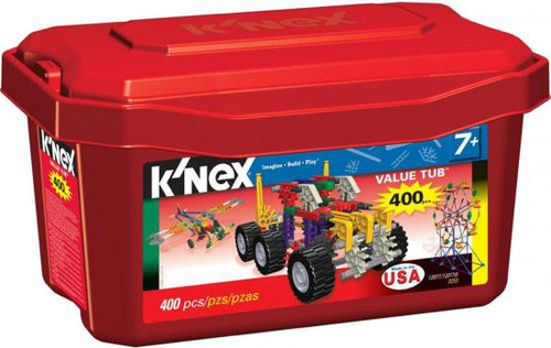 K'Nex 400 Piece Value Tub [Red]