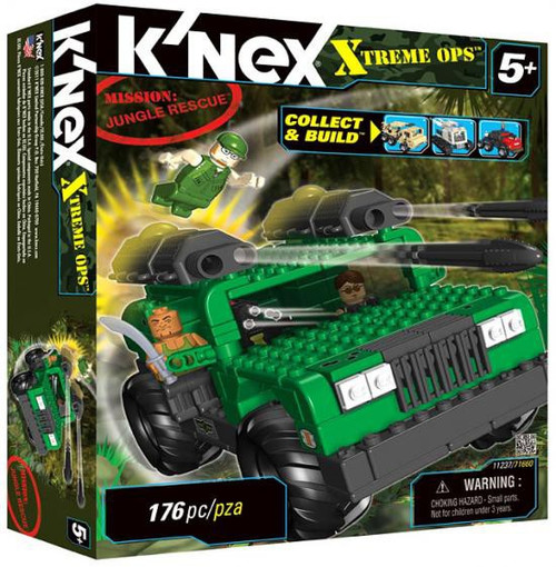 K'Nex Xtreme Ops Mission: Jungle Rescue Set #11237
