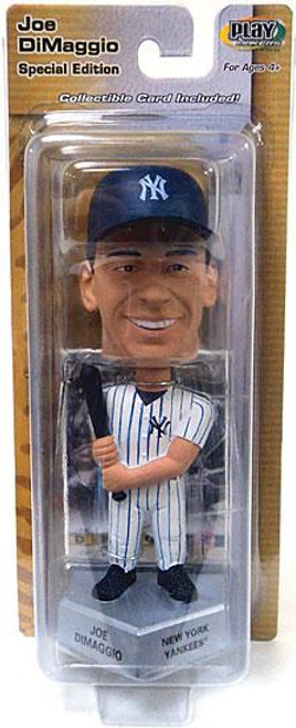 MLB New York Yankees PlayMakers Joe DiMaggio Bobble Head
