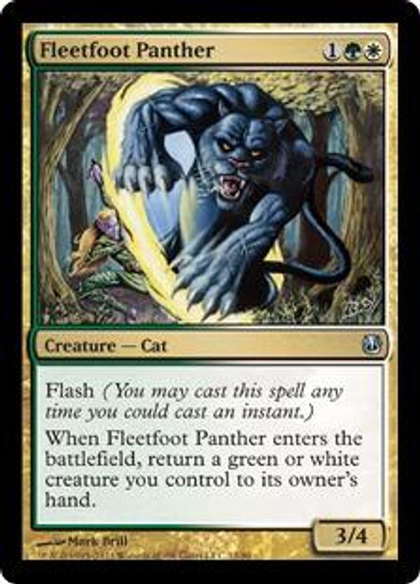 MtG Duel Decks: Ajani vs. Nicol Bolas Uncommon Fleetfoot Panther #12
