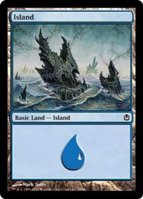 MtG Duel Decks: Ajani vs. Nicol Bolas Land Island #79
