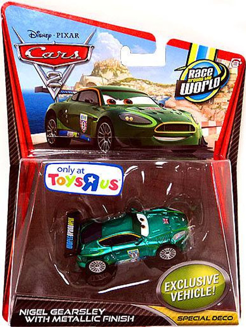 Disney Cars Cars 2 Main Series Nigel Gearsley with Metallic Finish Exclusive Diecast Car