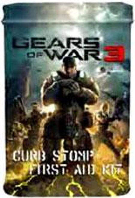 NECA Gears of War 3 Curb Stomp First Aid Kit Bandages [Game Box Art]