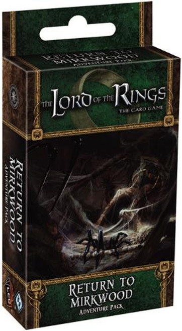 The Lord of the Rings The Card Game Lord of the Rings LCG Return to Mirkwood Adventure Pack