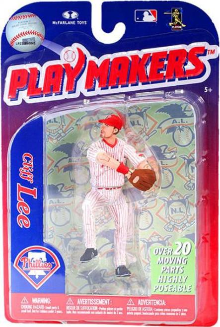 McFarlane Toys MLB Philadelphia Phillies Playmakers Series 3 Cliff Lee Action Figure