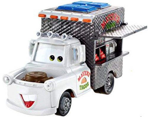 Disney Cars Cars 2 Deluxe Oversized Mater's Tacos Diecast Car