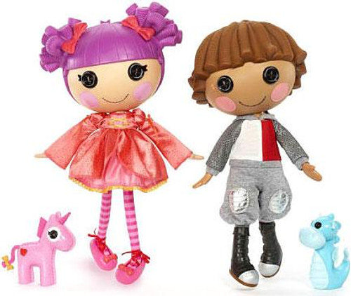 Lalaloopsy Sir Battlescarred & Lady Stillwaiting Doll Figure 2-Pack