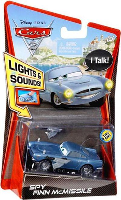 Disney Cars Cars 2 Lights & Sounds SPY Finn McMissile Diecast Car