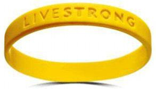 Lance Armstrong LiveSTRONG Rubber Bracelet [Adult XL]