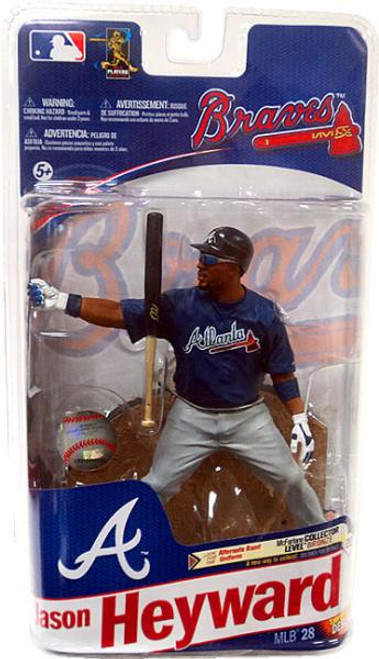 McFarlane Toys MLB Atlanta Braves Sports Picks Series 28 Jason Heyward Action Figure [Blue Jersey]